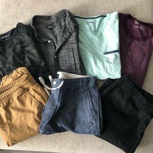 Express Men's Clothing Bundle